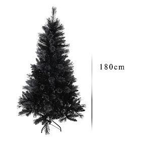 Albero di Natale Black Stone 180 cm s3
