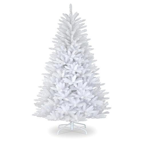 Albero di Natale 180 cm bianco Dunhill 1