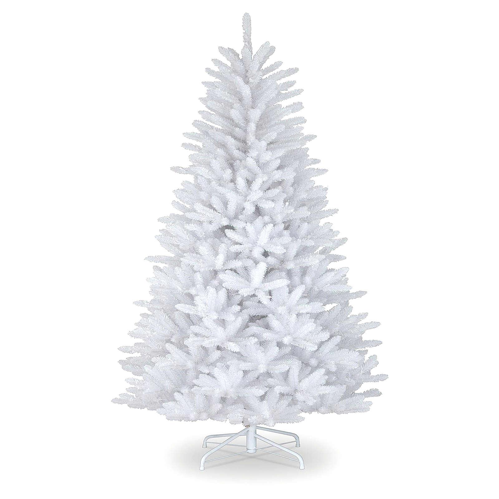 Albero di Natale 210 cm bianco Dunhill 3