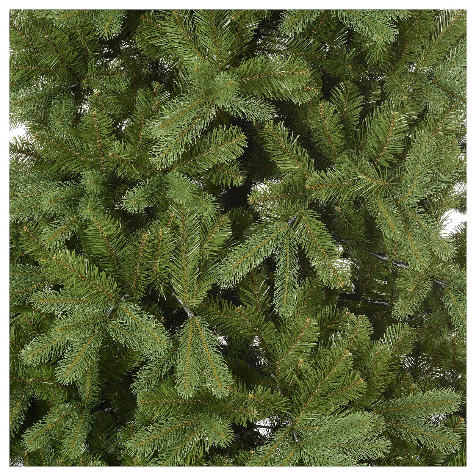 Árbol de Navidad artificial 210 cm color verde Poly Bayberry feel real 3