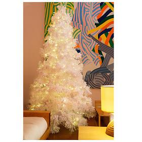 Christmas tree 340 cm snowy White Cloud 1050 LED lights s1