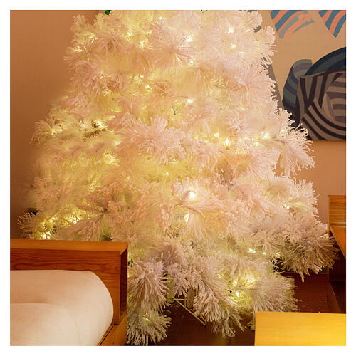 Christmas tree 340 cm snowy White Cloud 1050 LED lights 2