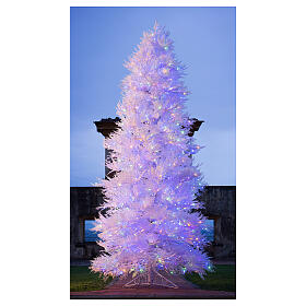 STOCK Albero Natale 270 cm led Winter Glamour 900 led rossi esterno s2