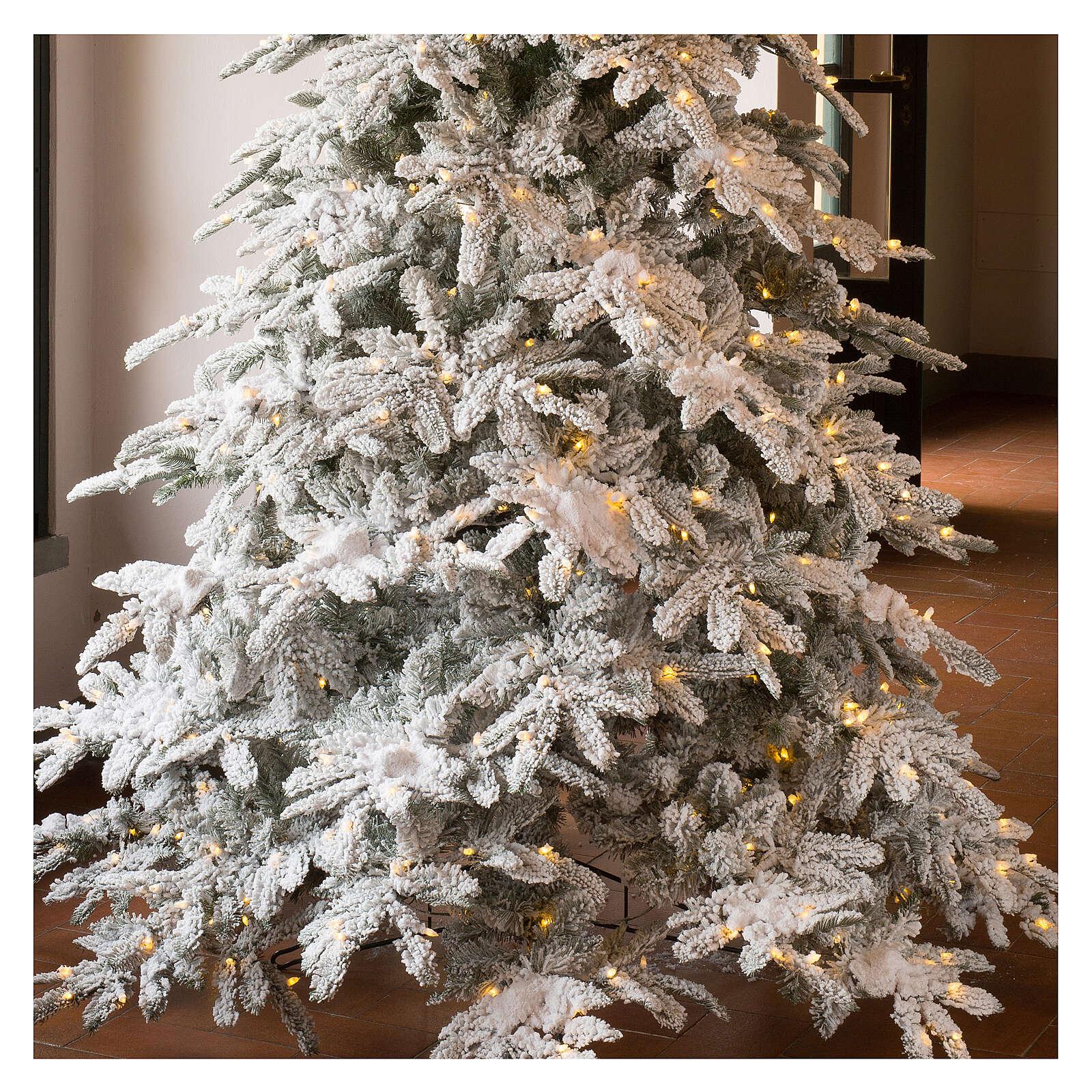 STOCK Albero di Natale 340 cm New Woodland 1650 luci led 3
