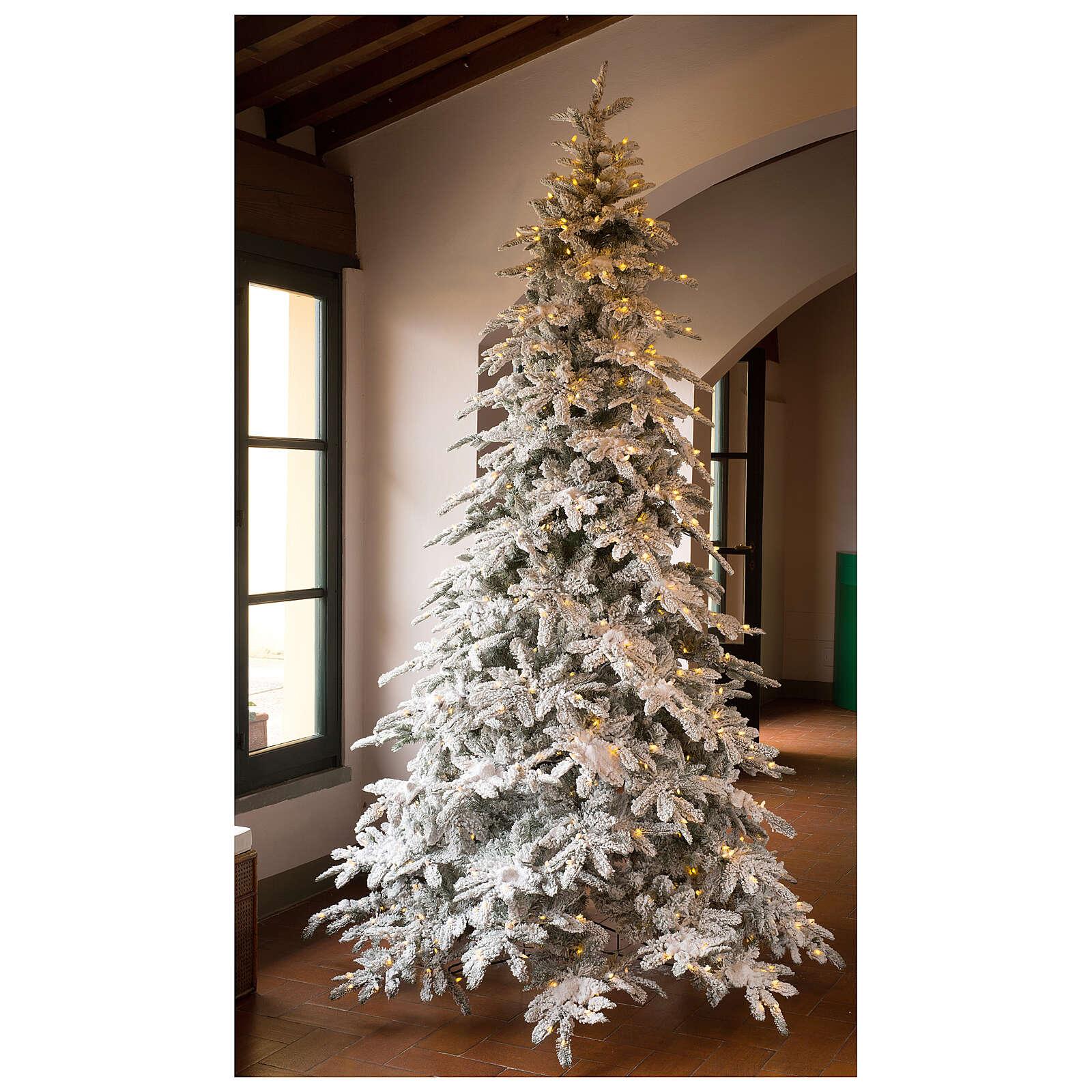 STOCK New Woodland Christmas tree 340 cm 1650 LEDs 3
