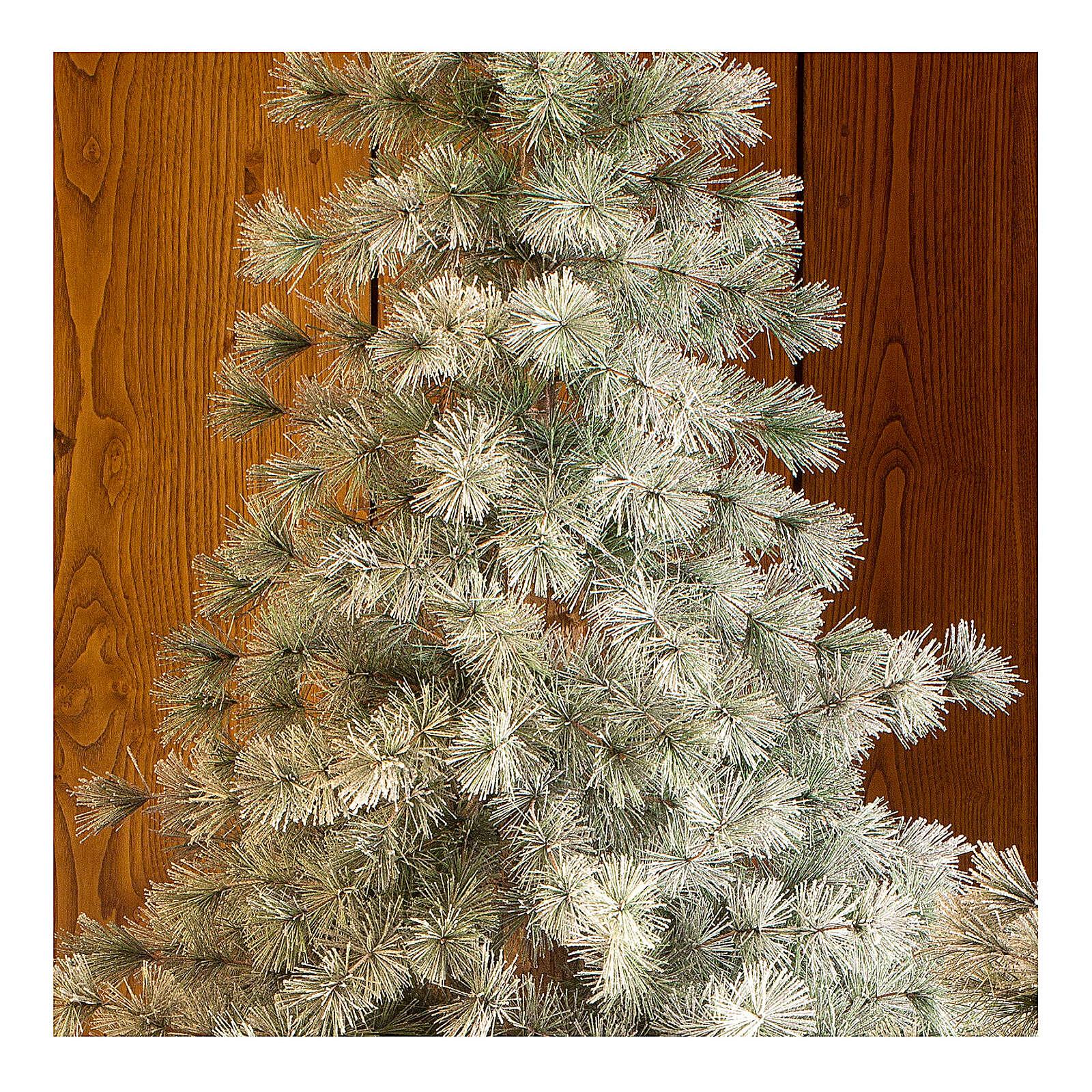 STOCK Albero di Natale 210 cm Aspen Pine floccato 3