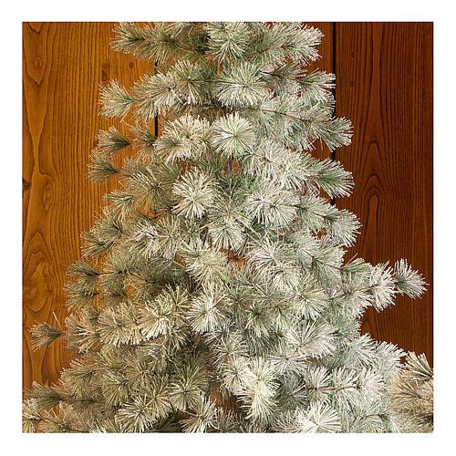 STOCK Albero di Natale 210 cm Aspen Pine floccato 2