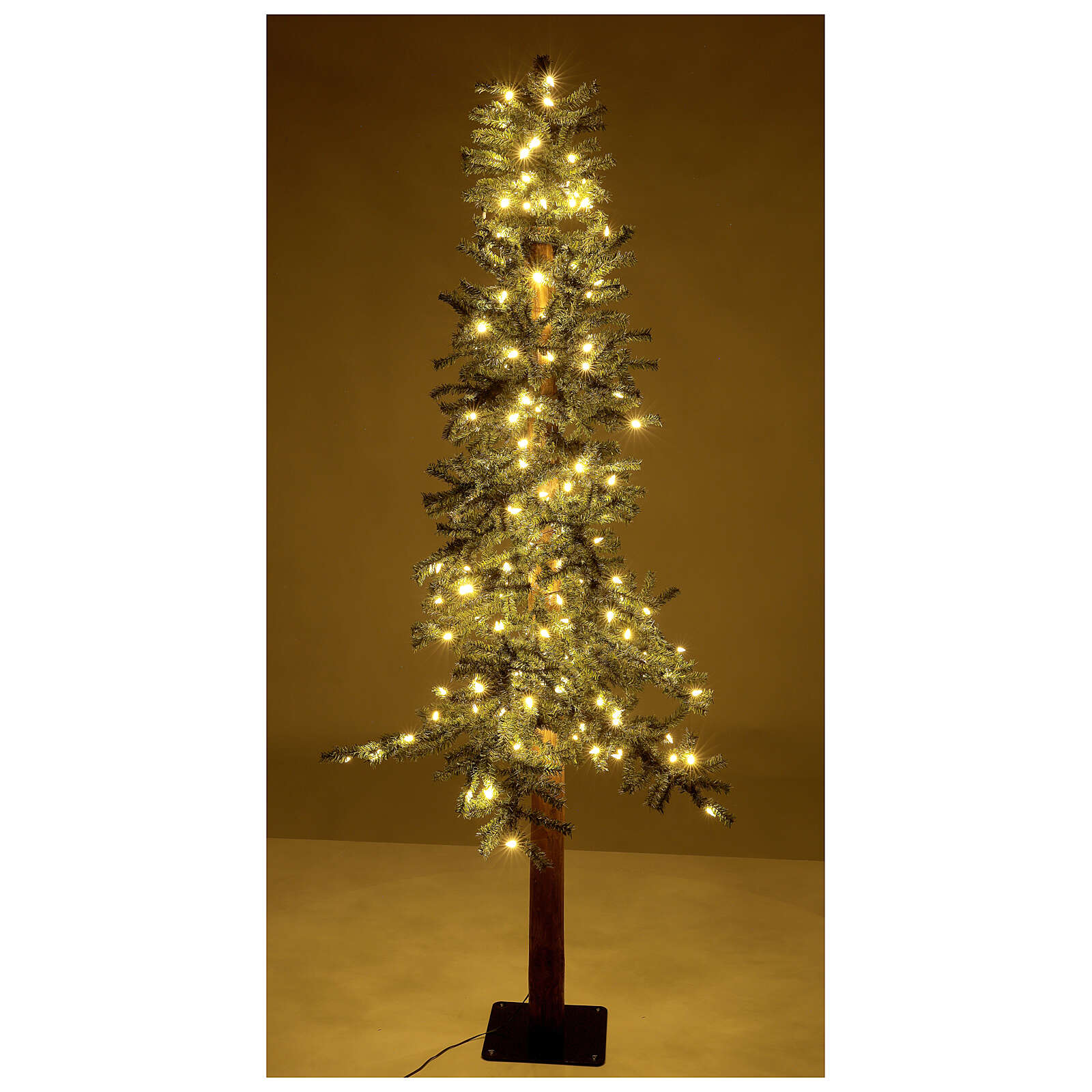 STOCK Slim Forest Christmas tree 180 cm 200 LEDs outdoor 3