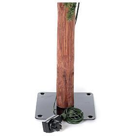 STOCK Albero di Natale 300 cm Slim Forest 600 led caldi esterno s5