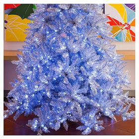 STOCK Albero di Natale 230 cm Vintage Silver 400 luci led esterno s2