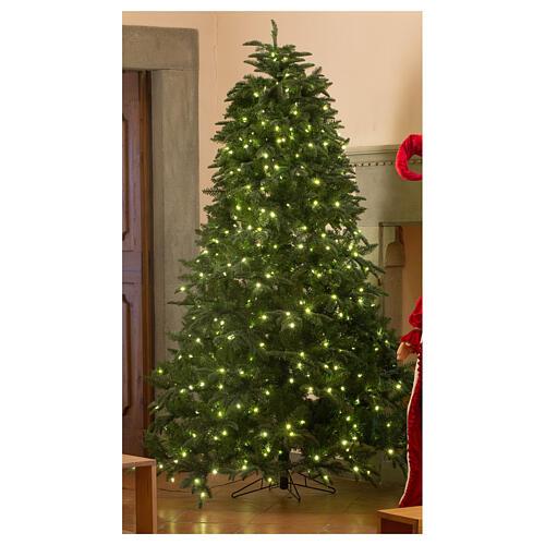 STOCK Albero Natale verde Hunter Green 340 cm con 1700 led caldi 1