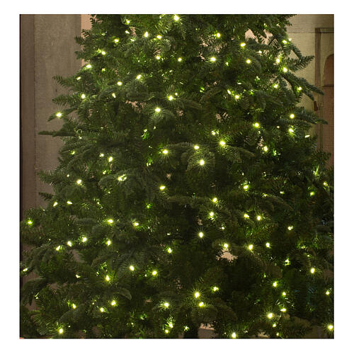 STOCK Hunter Green Christmas tree 340 cm with 1700 warm white LEDs 2
