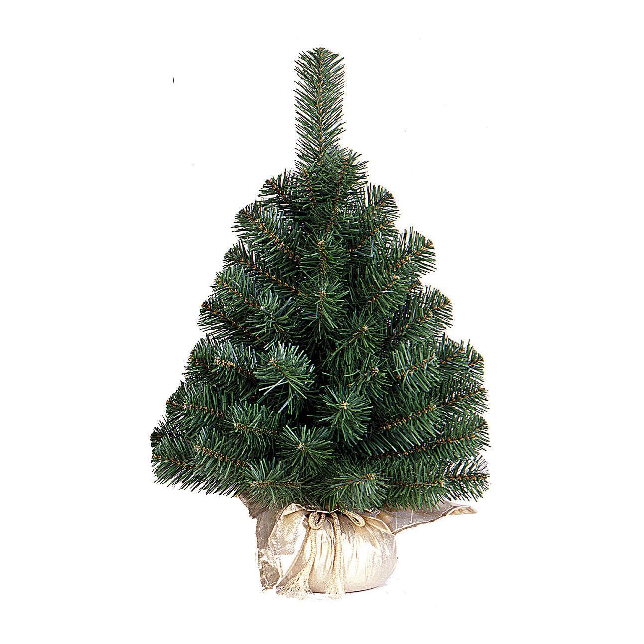 Alberello di Natale 60 cm Noble Spruce Tree oro Slim 3