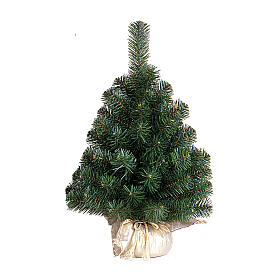 Alberello di Natale 60 cm Noble Spruce Tree oro Slim s1
