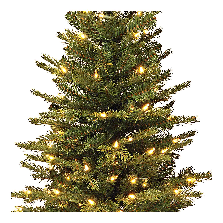 Alberello di Natale 60 cm luci e juta Noble Spruce Slim 3