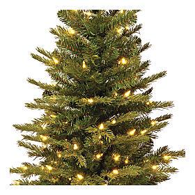 Alberello di Natale 60 cm luci e juta Noble Spruce Slim s2