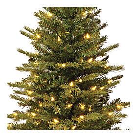 Árvore de Natal 90 cm com juta modelo Noble Spruce Slim s2
