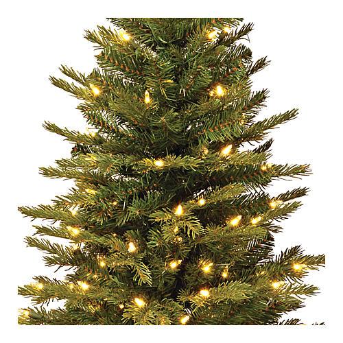 Árvore de Natal 90 cm com juta modelo Noble Spruce Slim 2