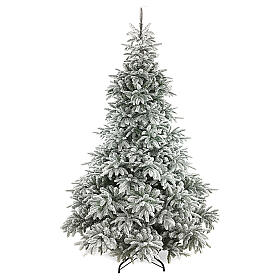 Poly Andorra Frosted Christmas Tree 210 cm s1