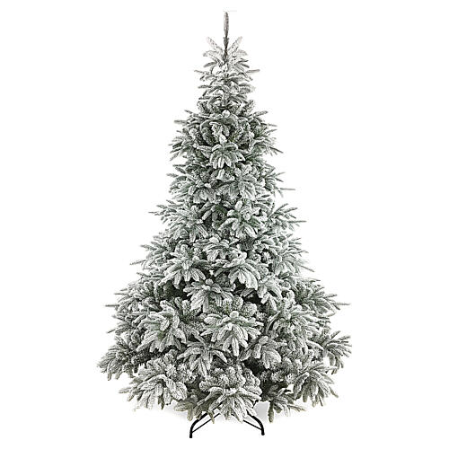 Poly Andorra Frosted Christmas Tree 210 cm 1