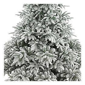Albero di Natale 240 cm poly floccato Andorra Frosted s2