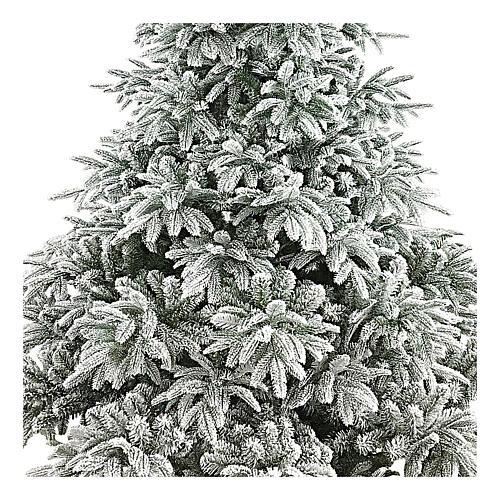 Albero di Natale 240 cm poly floccato Andorra Frosted 2