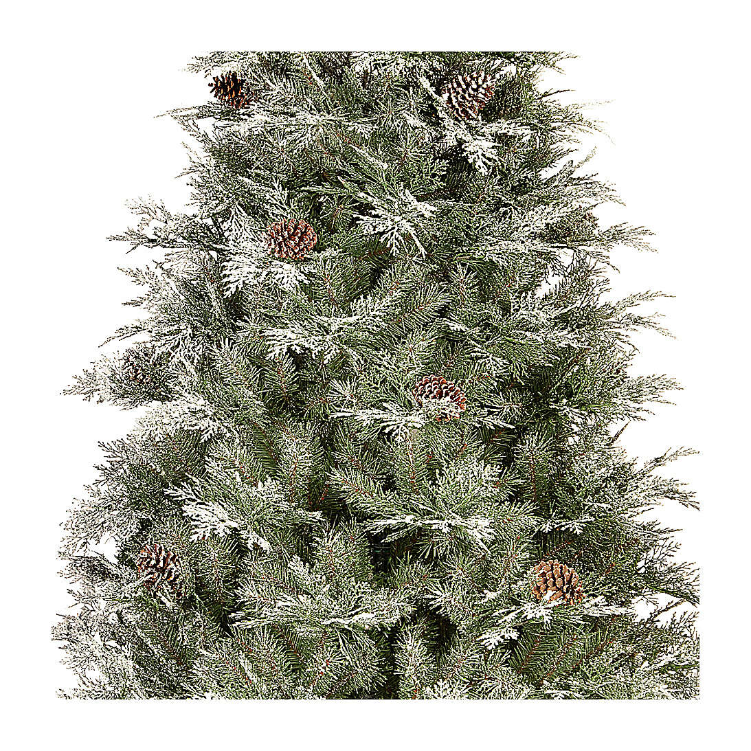 Albero di Natale 210 cm pigne poly Frosted Mountain Spruce 3