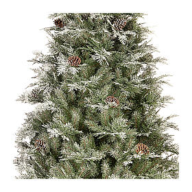 Albero di Natale 210 cm pigne poly Frosted Mountain Spruce s2