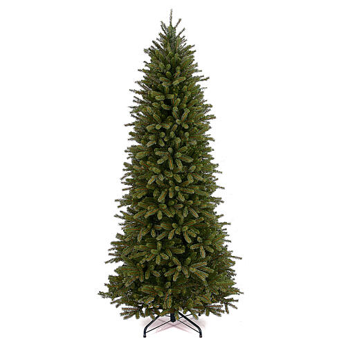 Albero di Natale 210 cm verde poly Jersey Fraser Fir Pencil 1