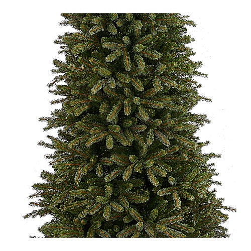 Albero di Natale 210 cm verde poly Jersey Fraser Fir Pencil 2