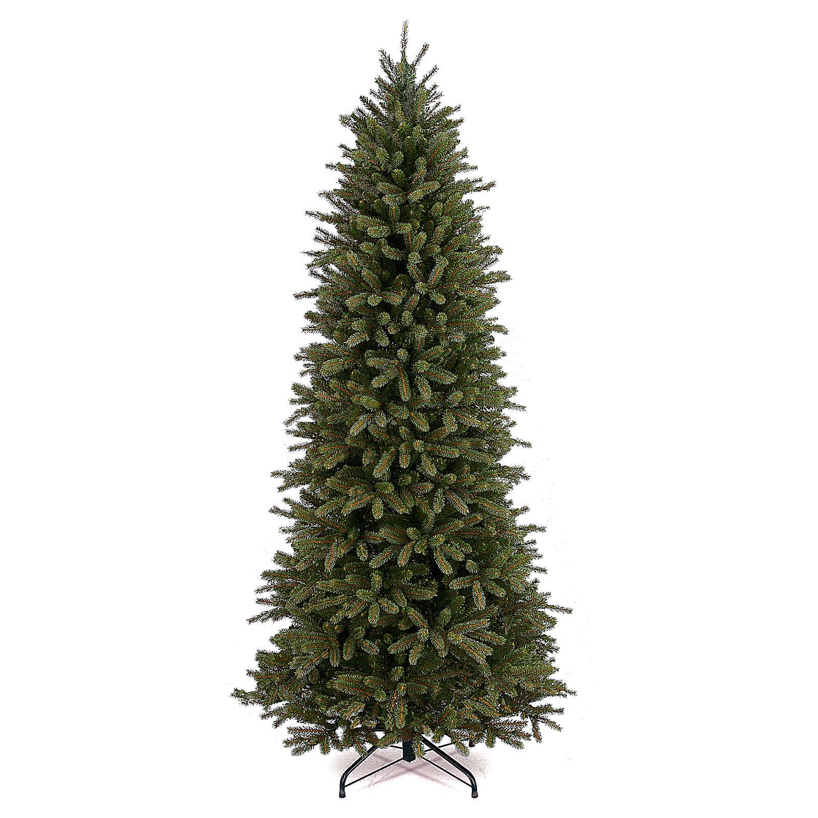 Albero di Natale 225 cm slim poly Jersey Fraser Fir Pencil 3