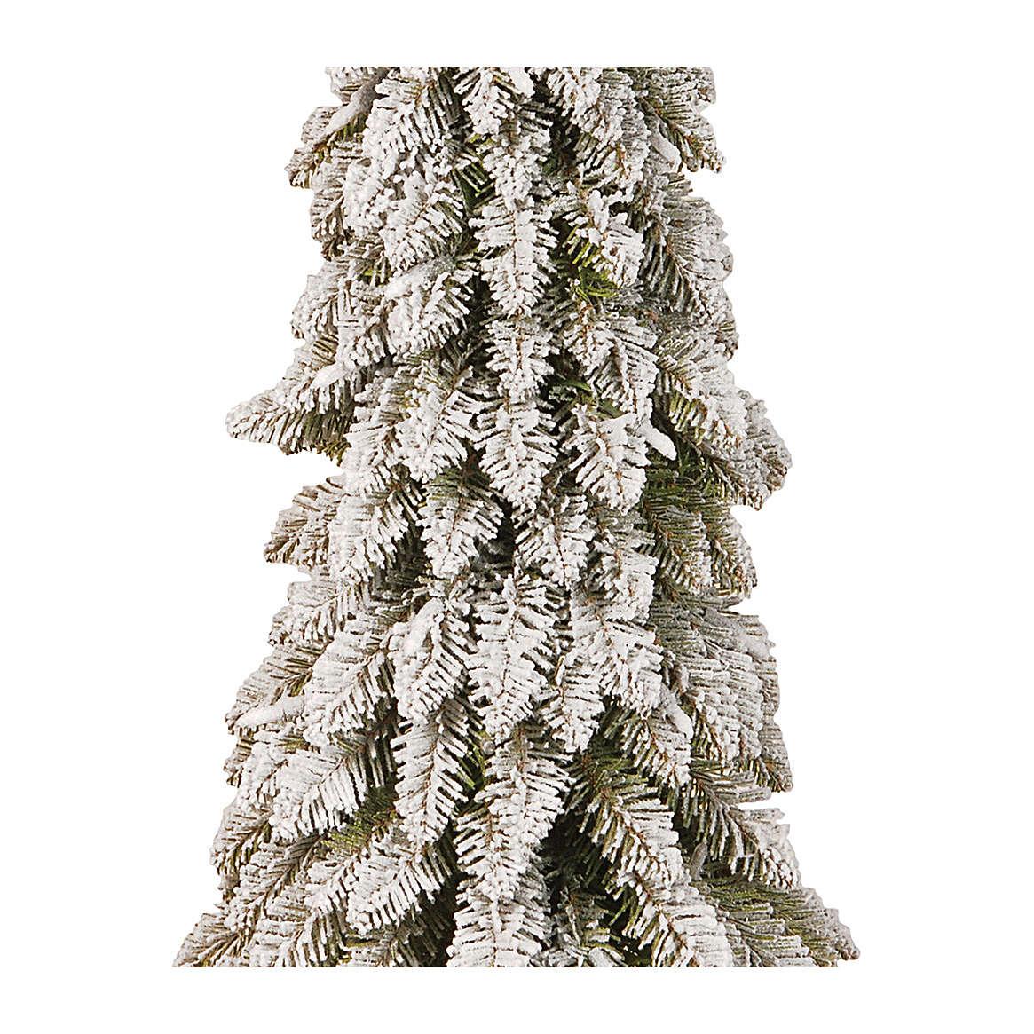 Albero di Natale 60 cm Downswept Forestree Flocked 3