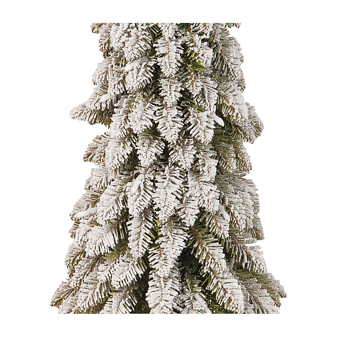Albero di Natale 90 cm linea Downswept Forestree Flocked 3