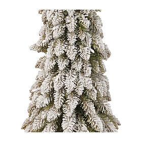 Albero di Natale 90 cm linea Downswept Forestree Flocked s2