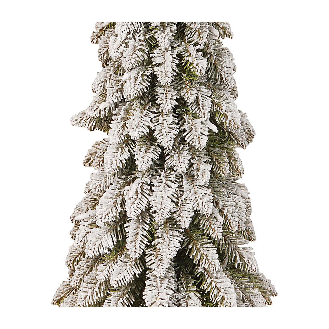 Albero di Natale 105 cm modello Downswept Forestree Flocked 3