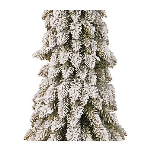 Albero di Natale 105 cm modello Downswept Forestree Flocked 2