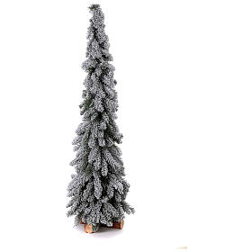 Árbol de Navidad 150 cm línea Downswept Forestree Flocked s1