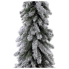 Árbol de Navidad 150 cm línea Downswept Forestree Flocked s2