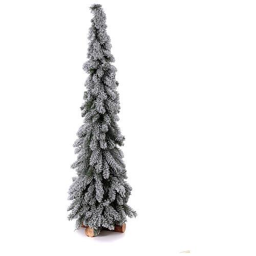 Árbol de Navidad 150 cm línea Downswept Forestree Flocked 1