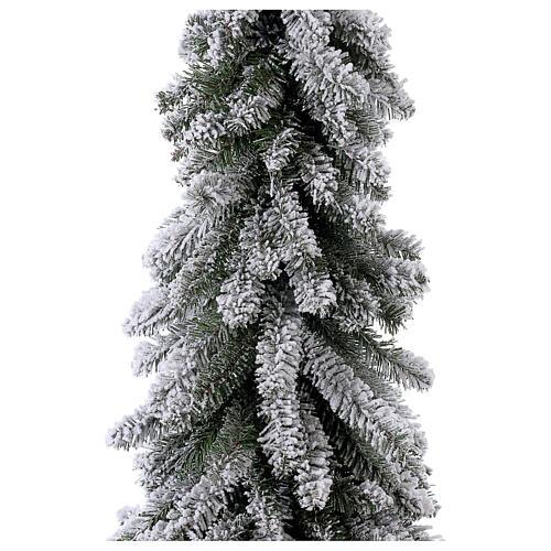 Árbol de Navidad 150 cm línea Downswept Forestree Flocked 2
