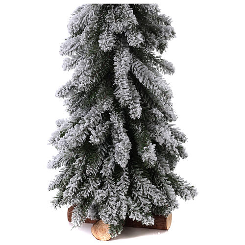 Árbol de Navidad 150 cm línea Downswept Forestree Flocked 3