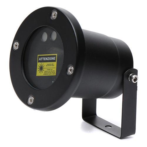 Laser-Projektor rot/grüne Punkte in Bewegung für innen und außen 5
