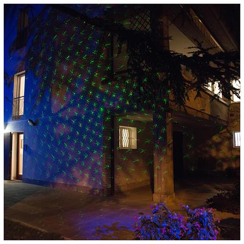 Laser-Projektor Dämmerlichtfunktion für innen und außen 1