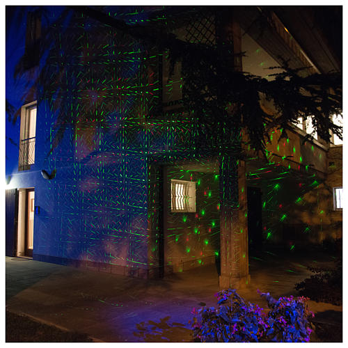 Laser-Projektor Dämmerlichtfunktion für innen und außen 6