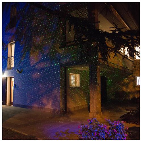 Laser-Projektor Dämmerlichtfunktion für innen und außen 7