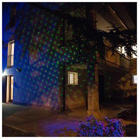 Proyectores Láser de Navidad: Proyector láser Crepuscular puntitos interior exterior