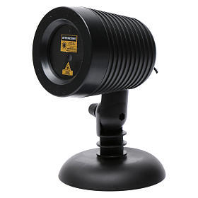 Proiettore laser Crepuscolare puntini interno esterno s3