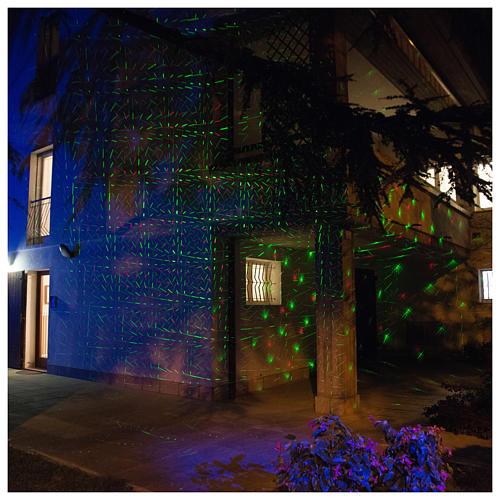 Projetor laser sensor crepuscular pontos interior exterior 6