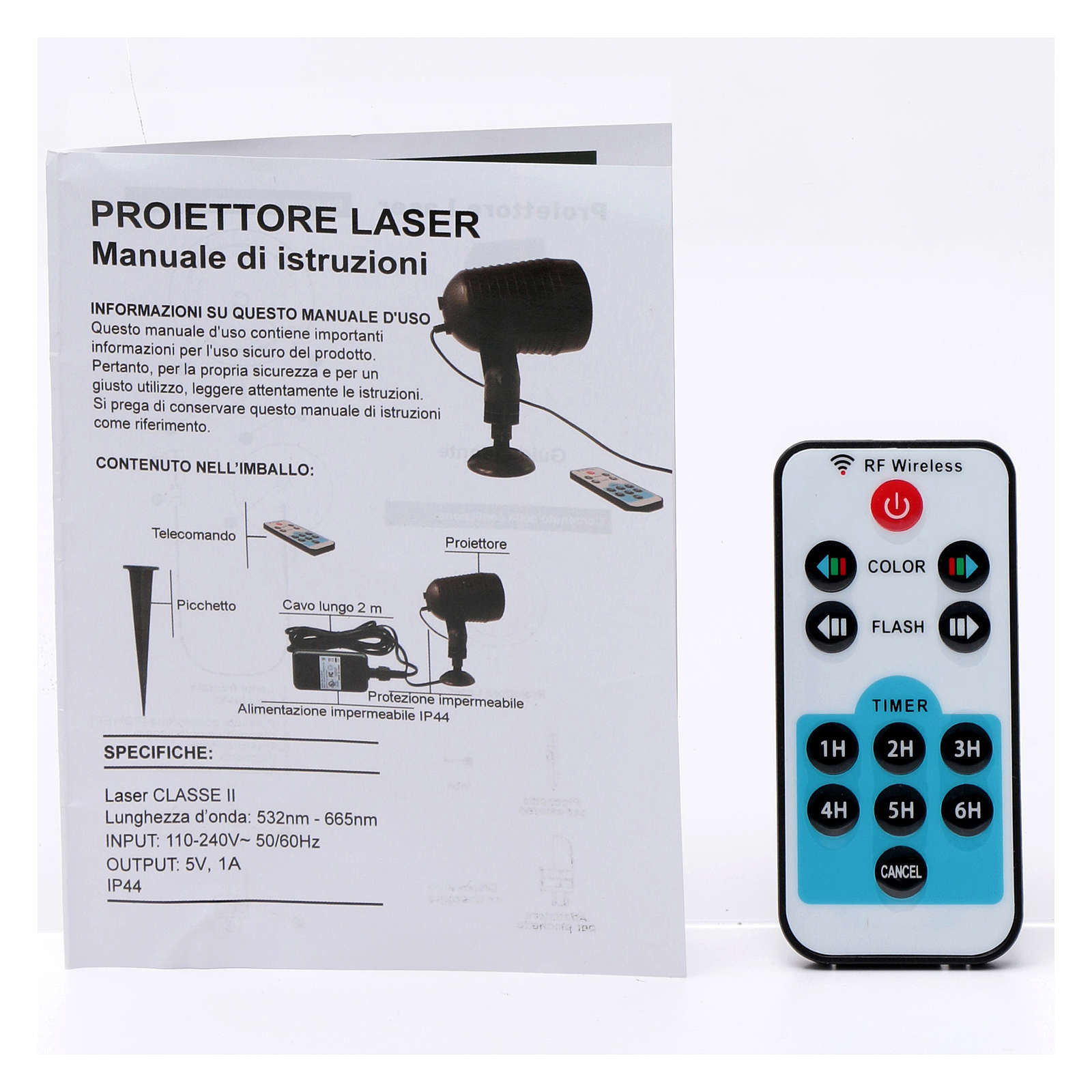 Laser projector twilight with dots for internal and external use 3