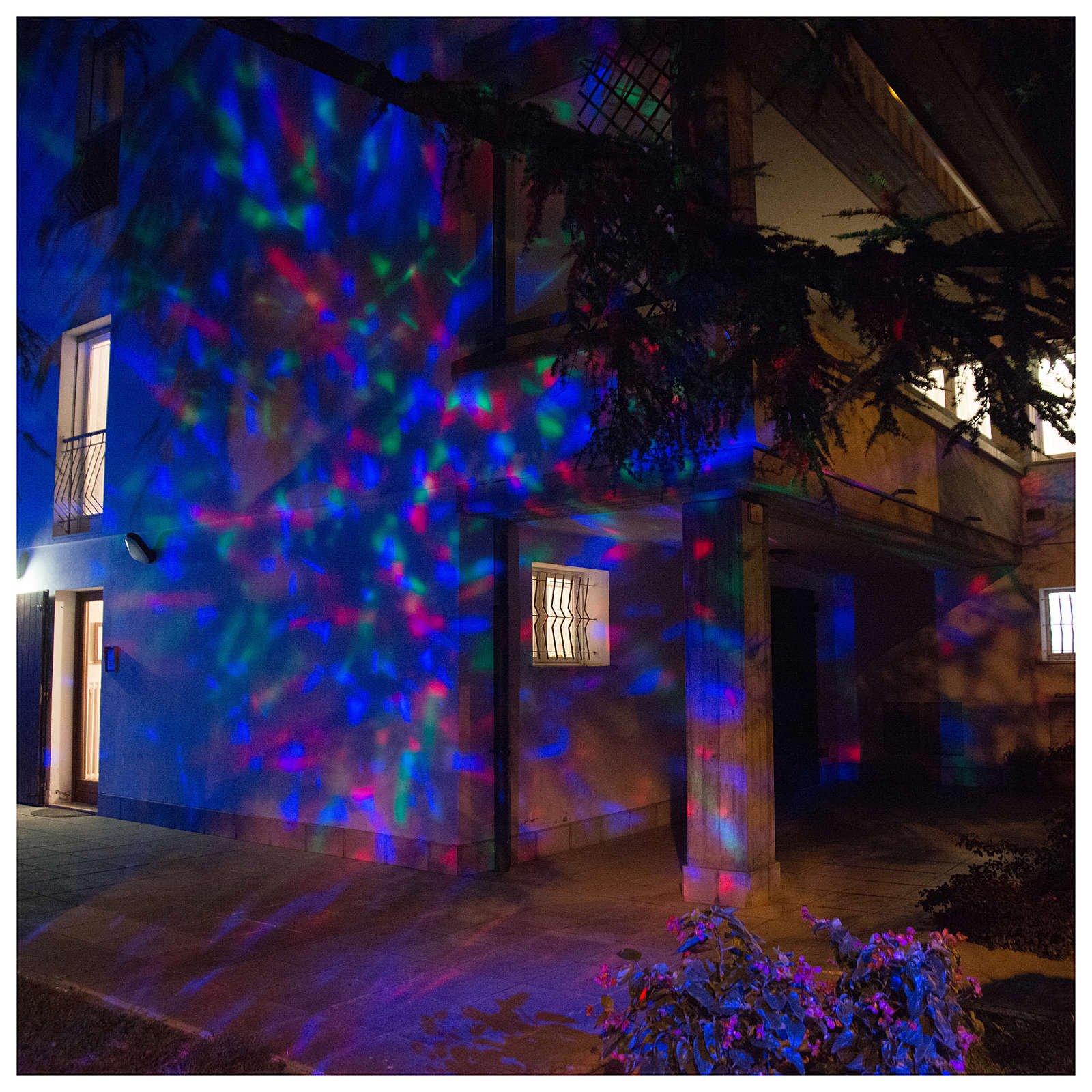 Projector 3led water waves multicoloured internal and external use 3